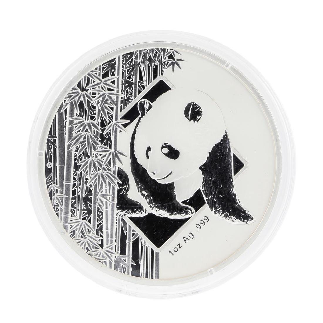 2016 China Bamboo Panda Hawaii Silver Coin HSNA w/ COA