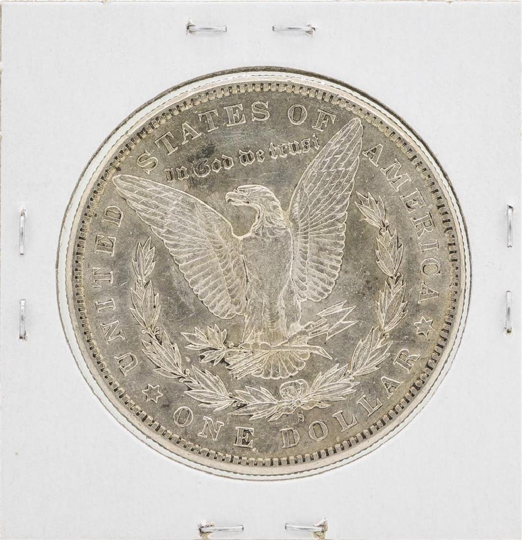 1898-S $1 Morgan Silver Dollar Coin - 2