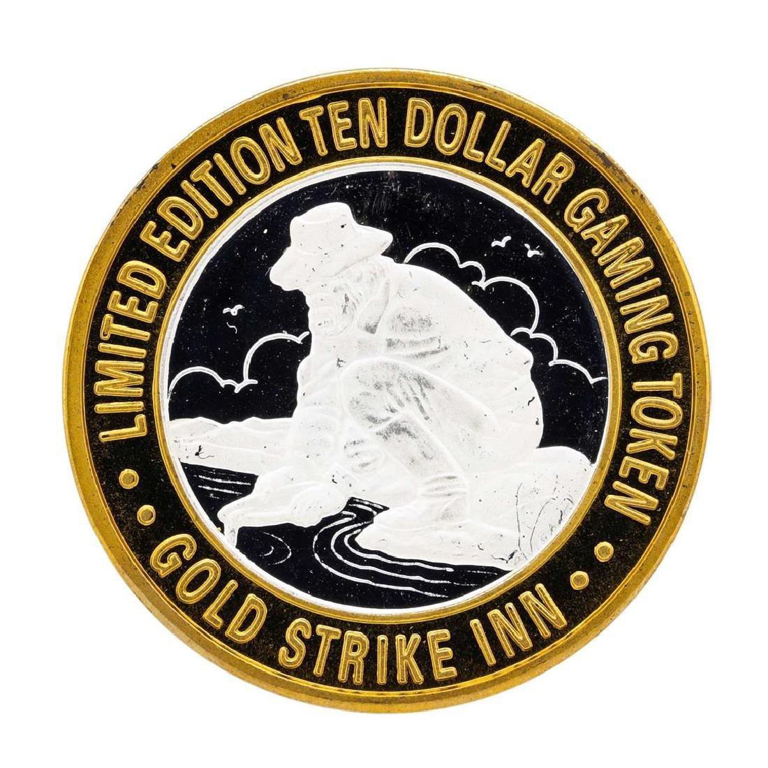 .999 Silver Gold Strike Inn Boulder City, Nevada $10
