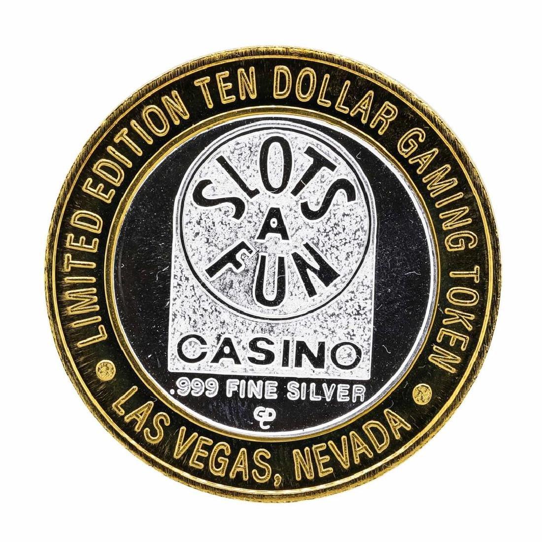 .999 Silver Slots - A - Fun Las Vegas, Nevada $10 - 2