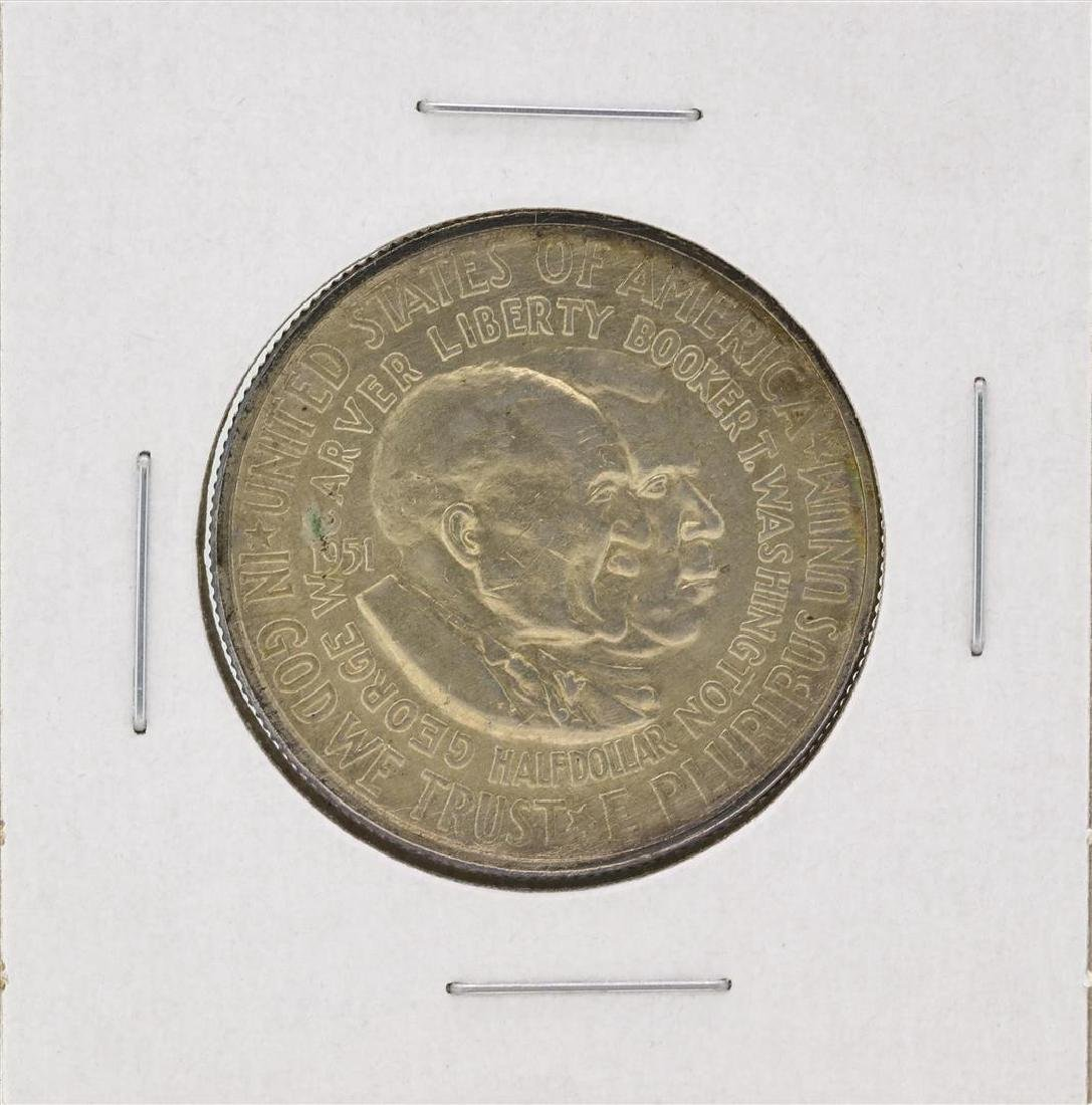 1951-D Washington-Carver Centennial Commemorative Half