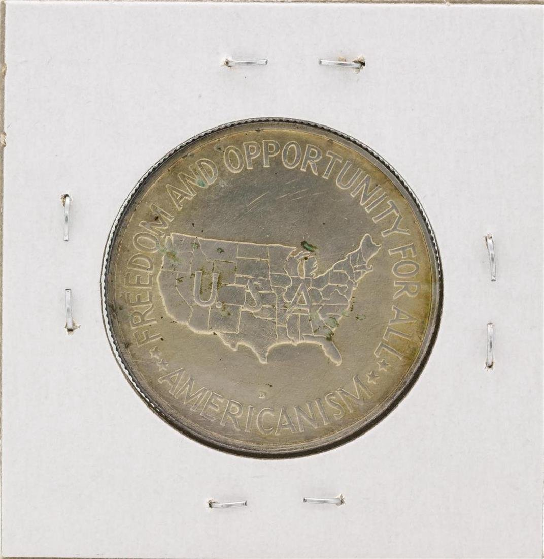 1951-D Washington-Carver Centennial Commemorative Half - 2