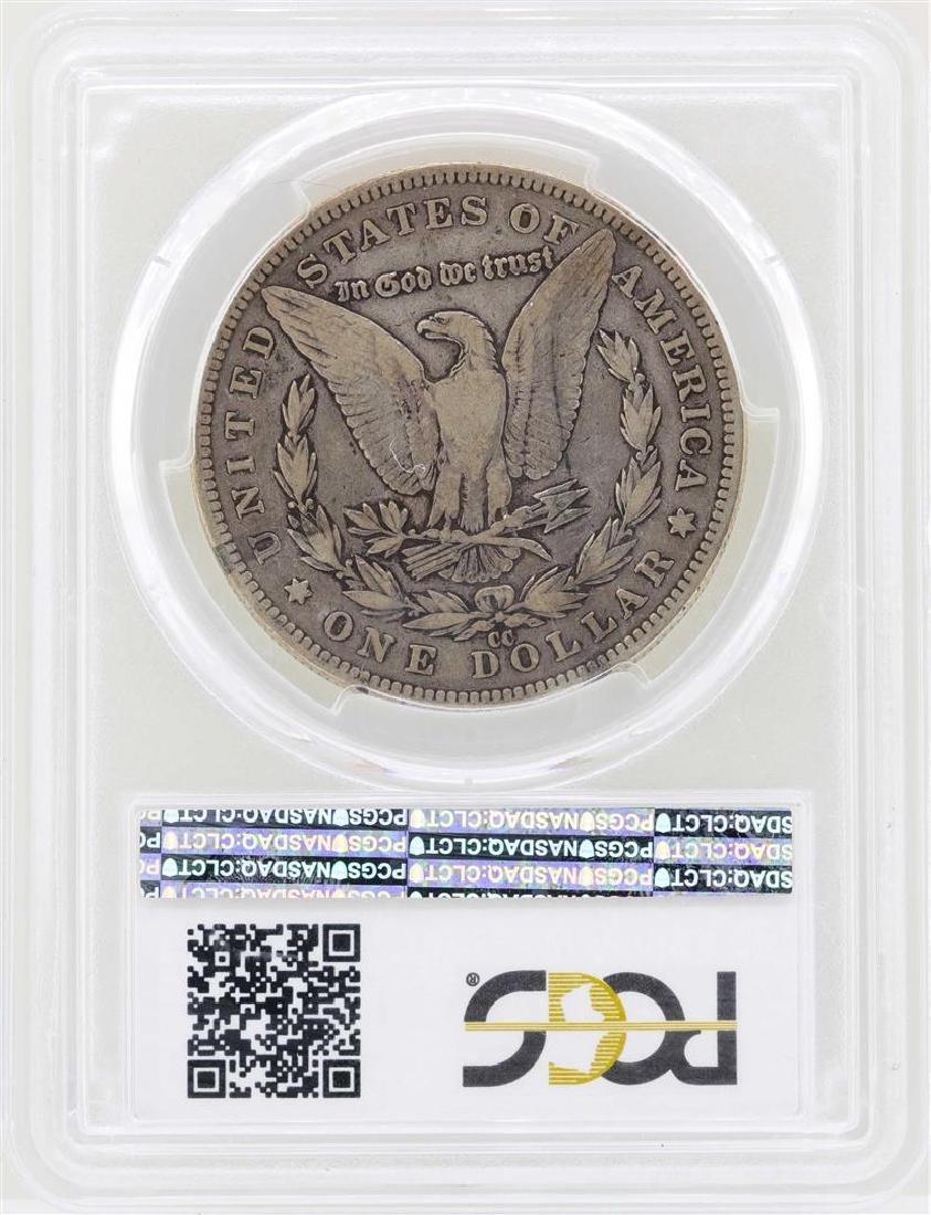 1890-CC $1 Morgan Silver Dollar Coin PCGS F15 - 2
