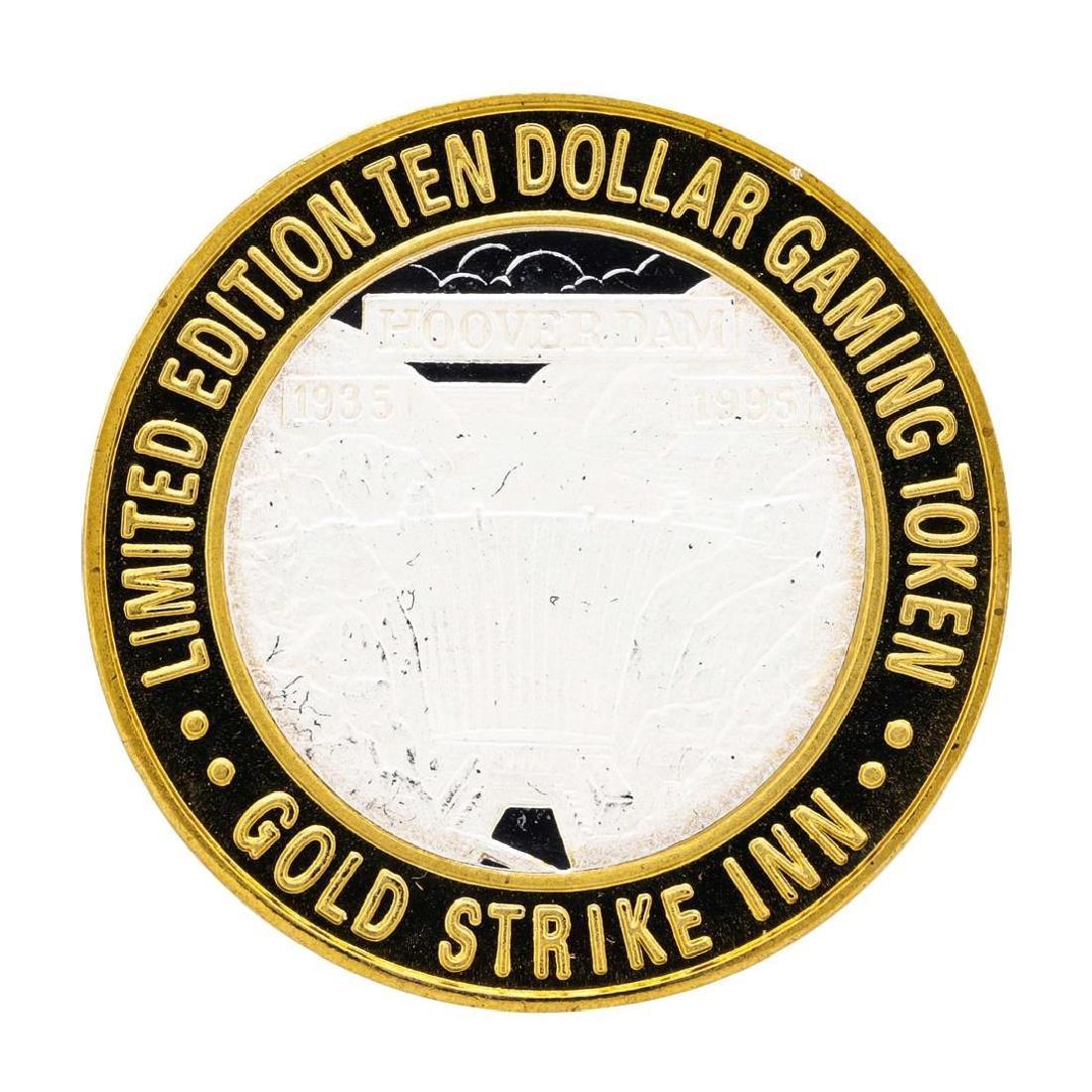.999 Silver Gold Strike Inn Boulder City, Nevada $10 - 2