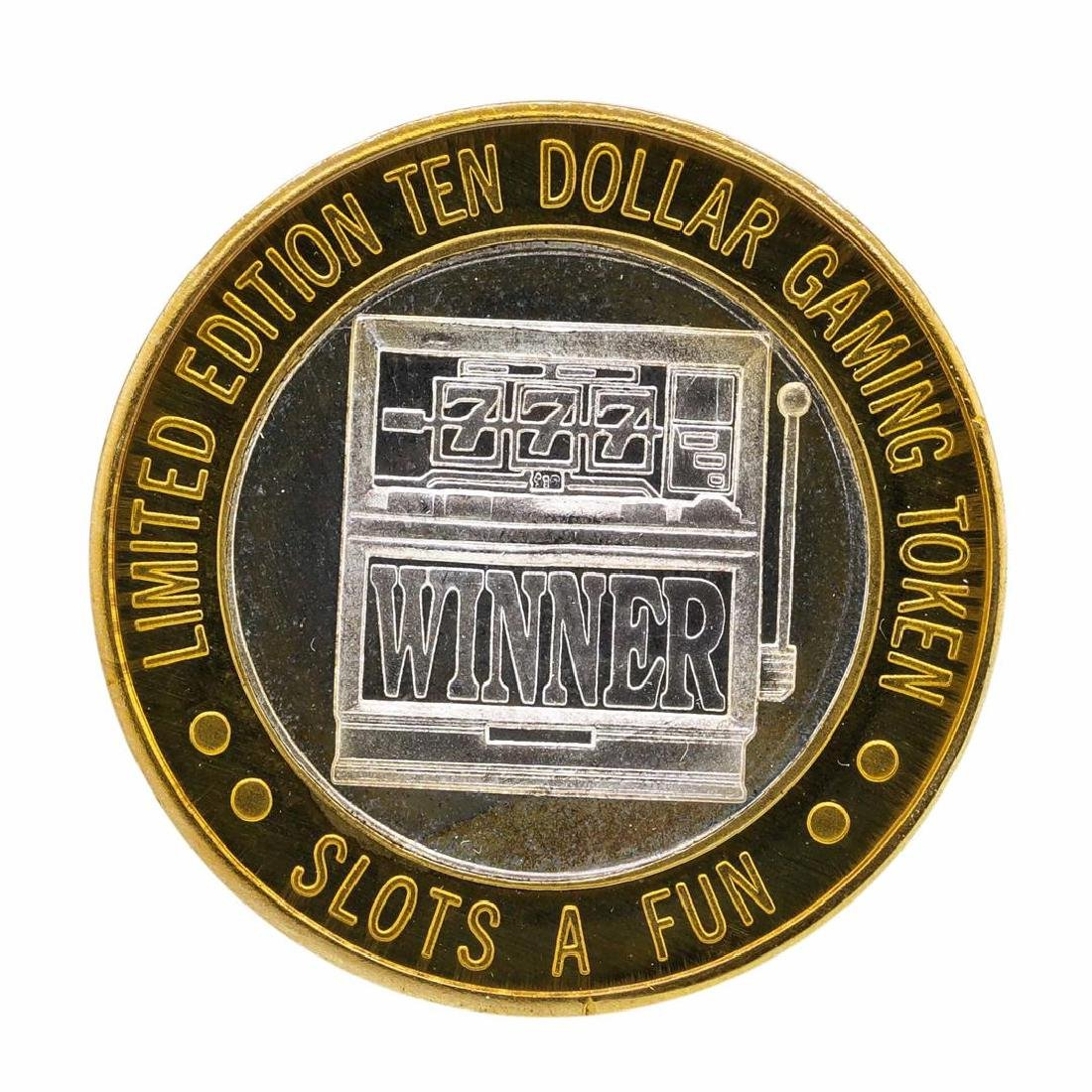 .999 Silver Slots - A - Fun Las Vegas, Nevada $10