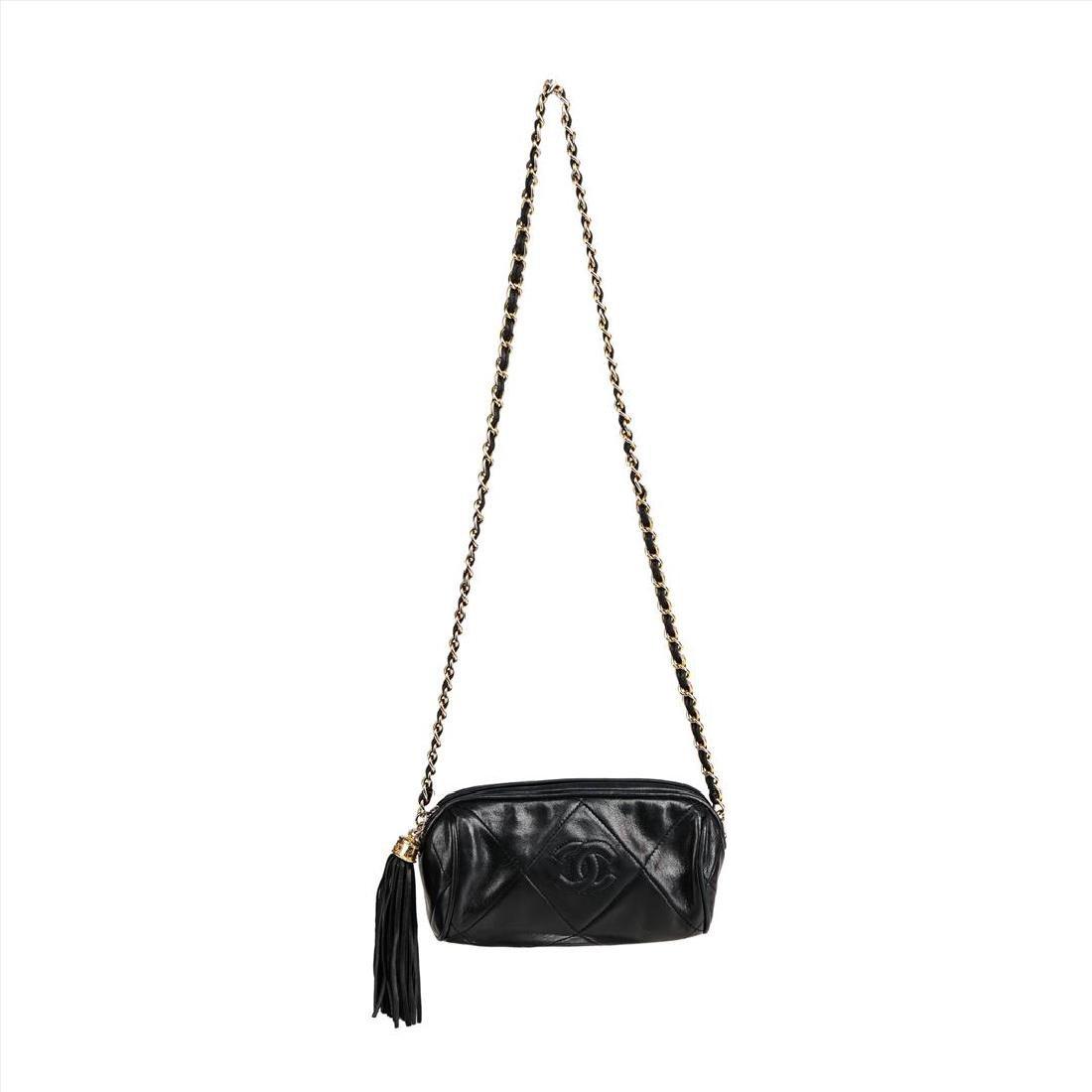 Vintage Chanel Crossbody Evening Bag