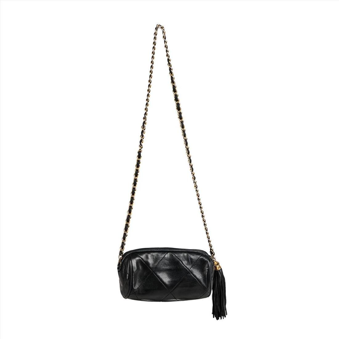 Vintage Chanel Crossbody Evening Bag - 2
