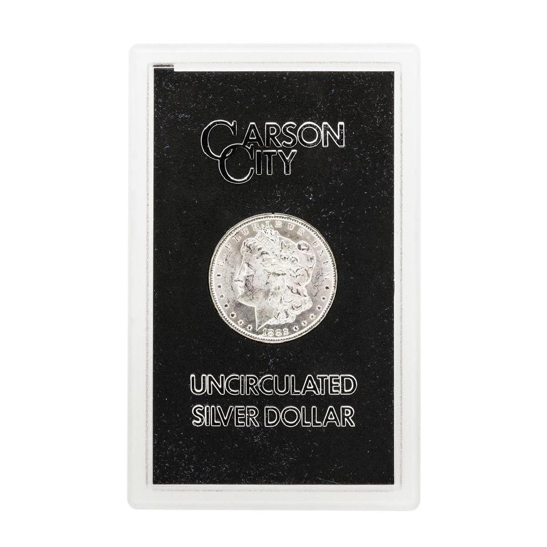 1882-CC $1 Morgan Silver Dollar Coin GSA w/ Box & COA - 2