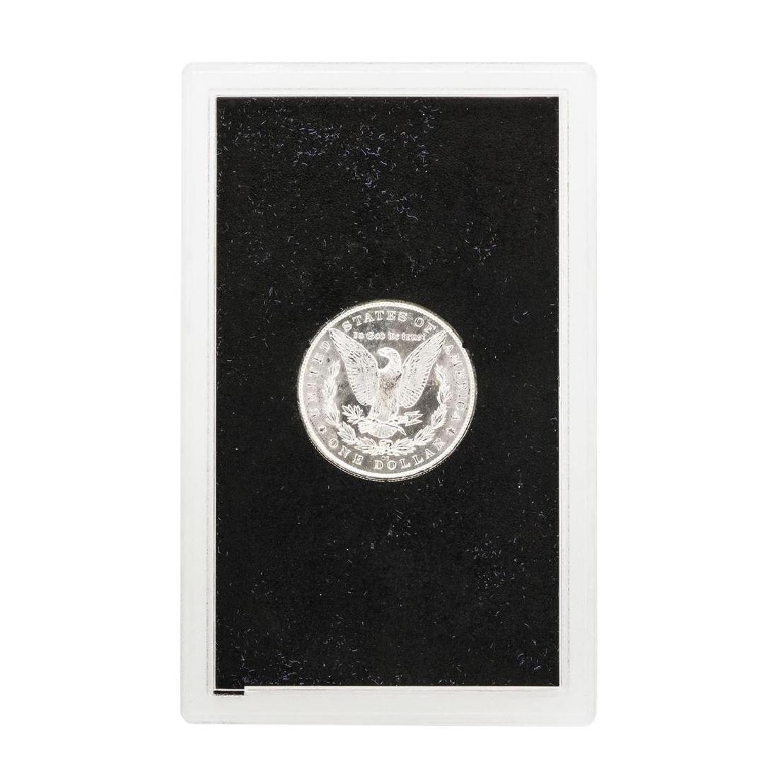 1882-CC $1 Morgan Silver Dollar Coin GSA w/ Box & COA - 3