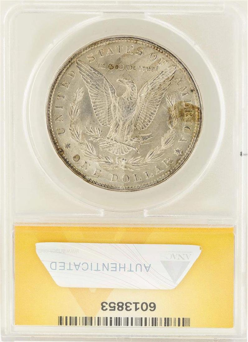 1887 $1 Morgan Silver Dollar VAM-12A DDO Top 100 ANACS - 2