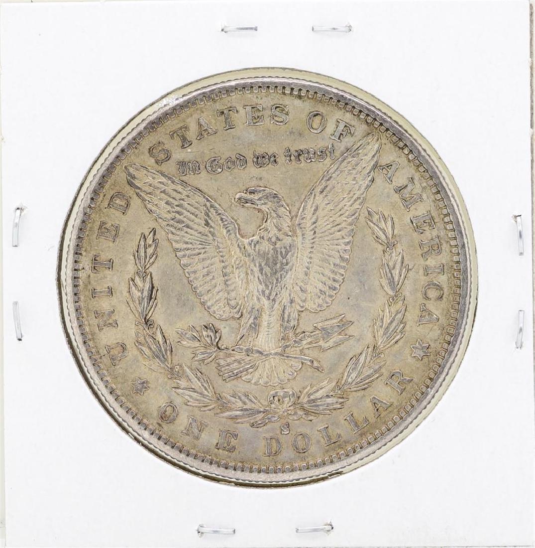 1889-S $1 Morgan Silver Dollar Coin - 2