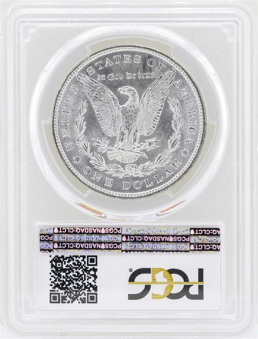 1879 $1 Morgan Silver Dollar Coin PCGS MS62 - 2