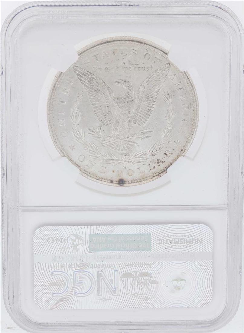 1882-S $1 Morgan Silver Dollar Coin NGC MS63 - 2