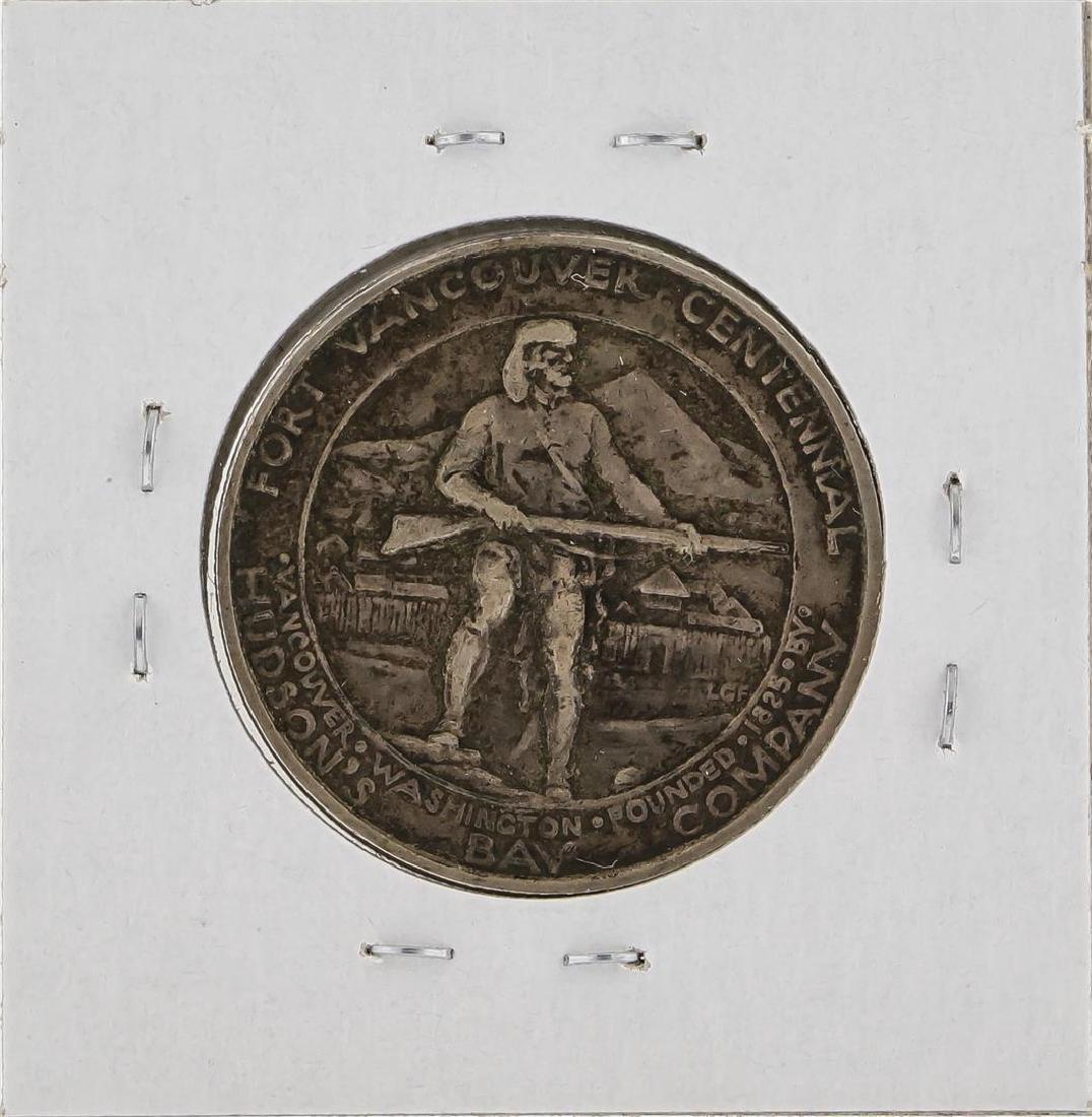 1925 Fort Vancouver Centennial Half Dollar - 2