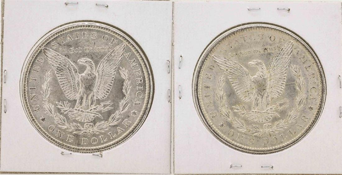 Lot of 1883-O & 1900-O $1 Morgan Silver Dollar Coins - 2