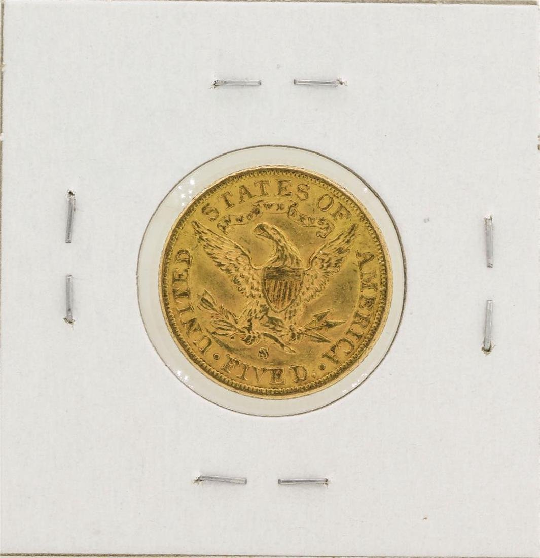 1903-S $5 Liberty Head Half Eagle Gold Coin - 2