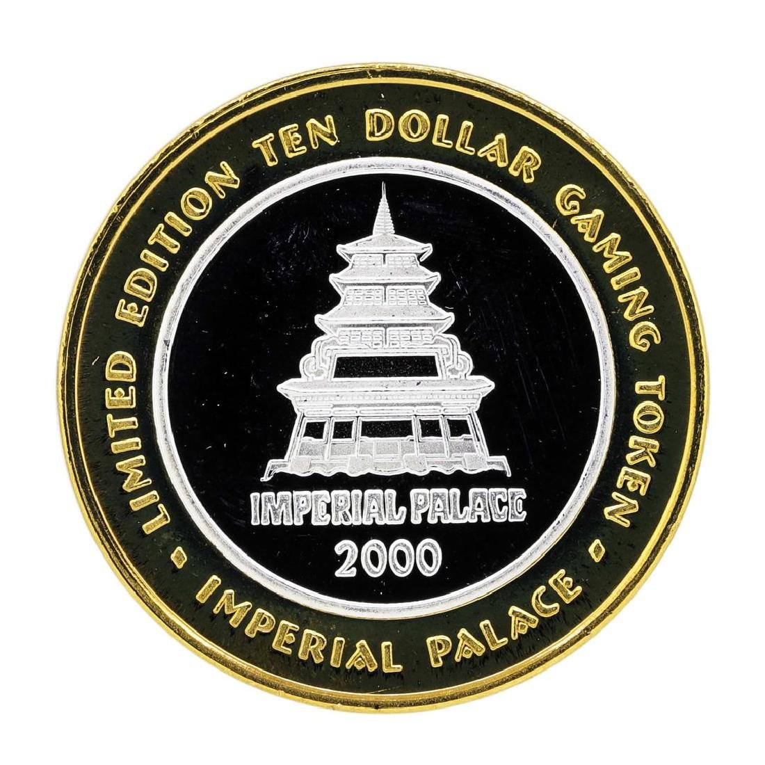 .999 Silver Imperial Palace Hotel & Casino Nevada $10 - 2
