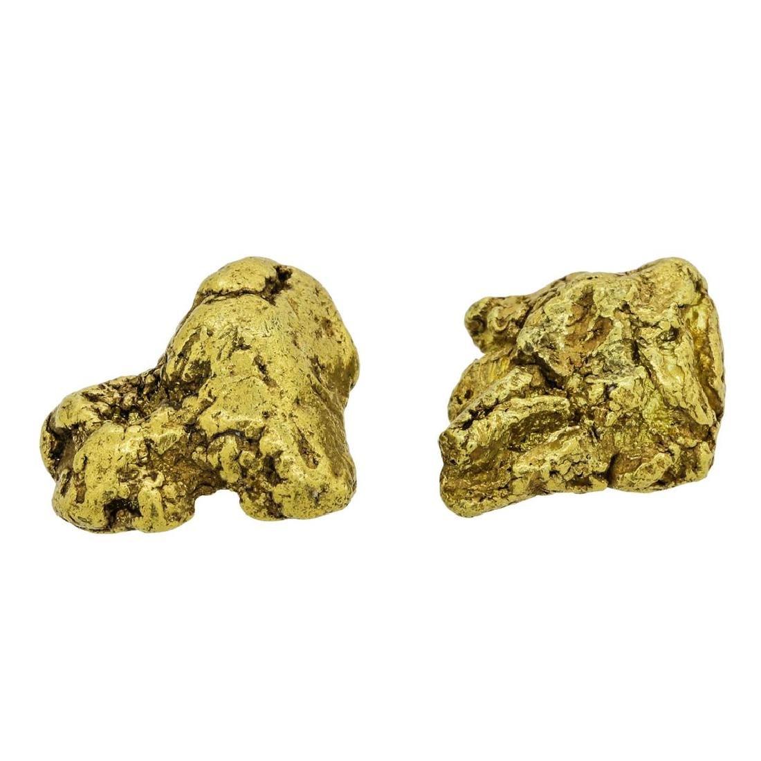 Lot of (2) Alaskan Gold Nuggets 10.45 Grams - 2