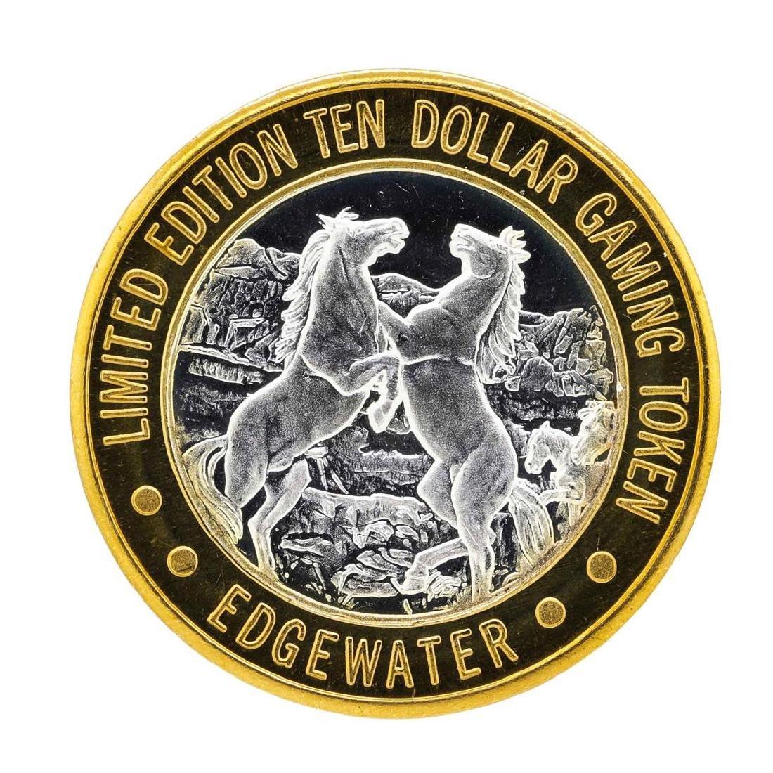 .999 Silver Edgewater Hotel & Casino $10 Casino Limited