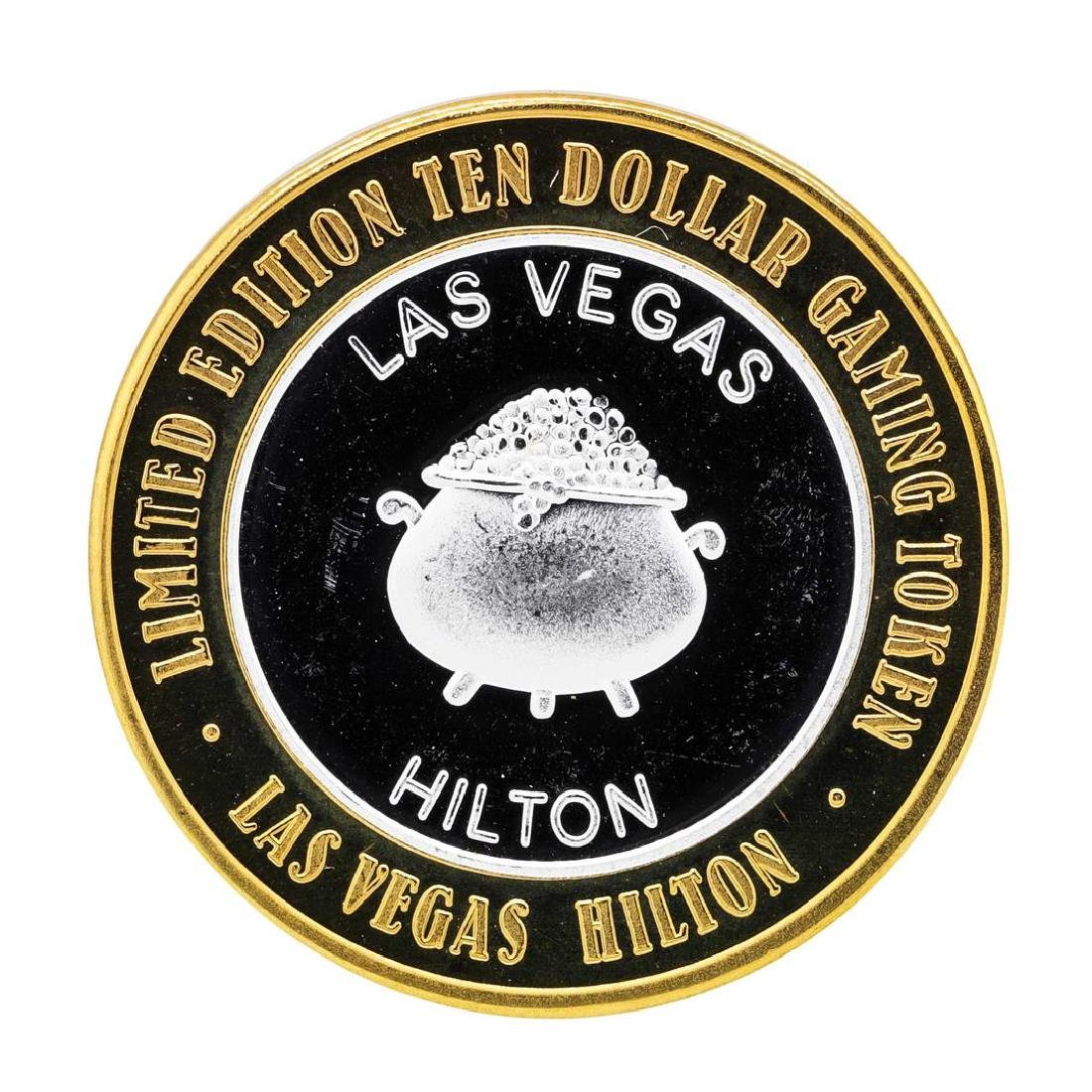.999 Silver Hilton Las Vegas, Nevada $10 Casino Limited