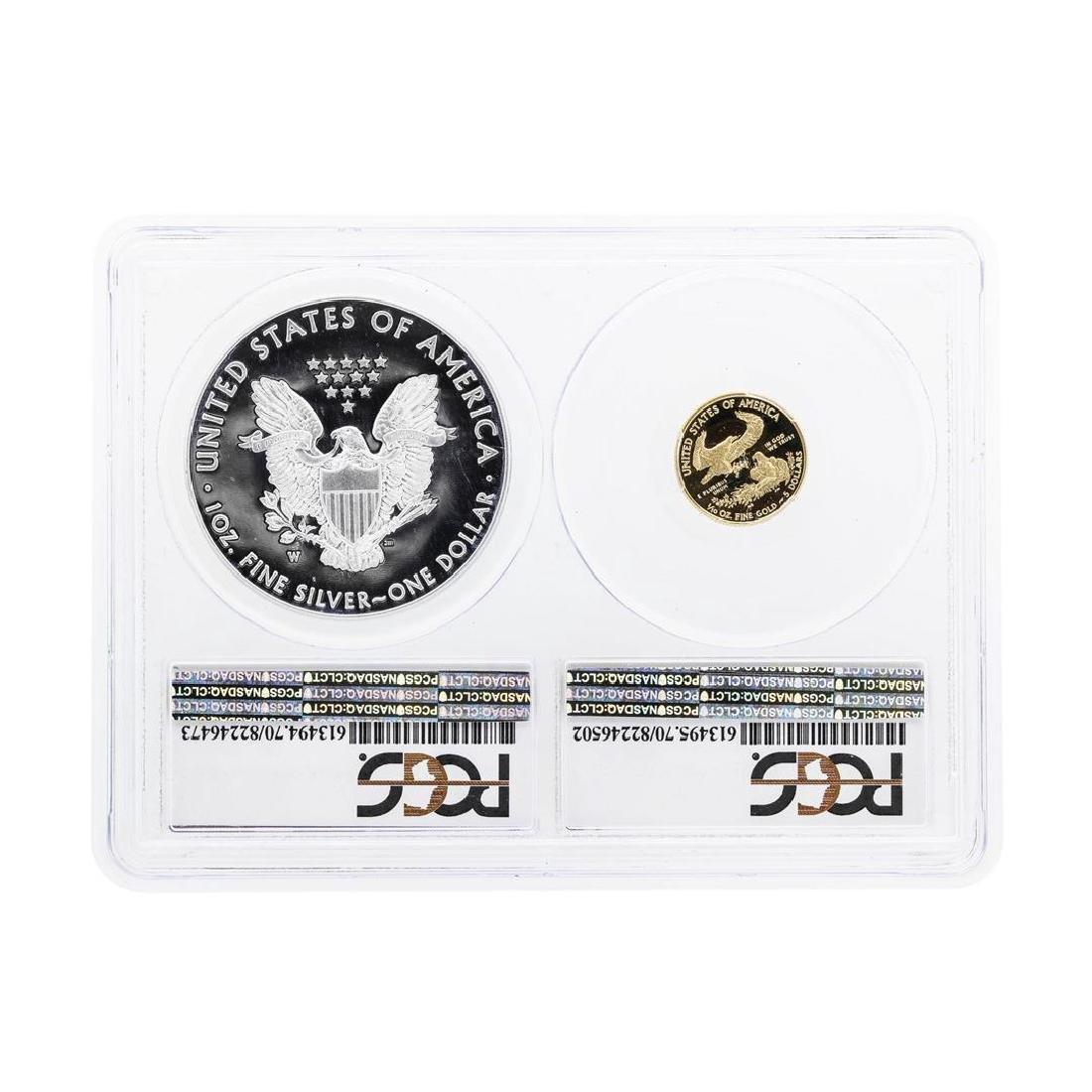 2016-W American Silver & Gold Eagle 30th Anniversary - 2