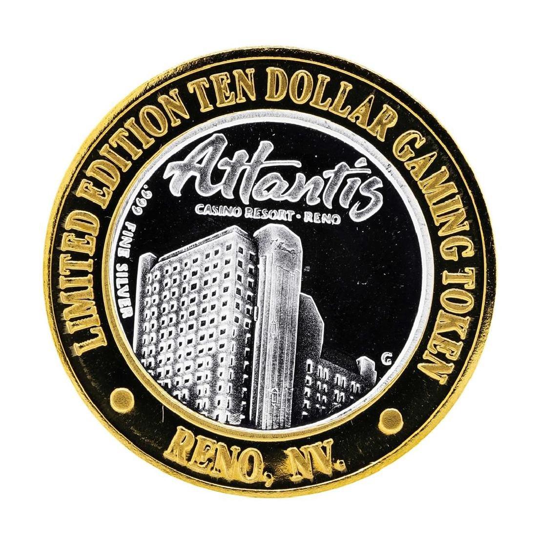 .999 Silver Atlantis Casino Resort Reno, NV $10 Casino