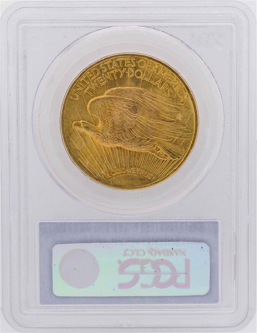 1924 $20 Saint Gaudens Double Eagle Gold Coin PCGS MS66 - 2