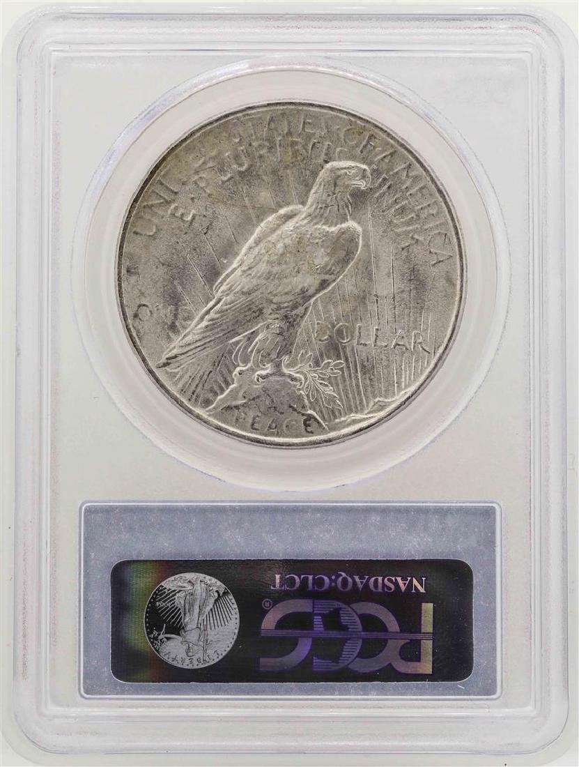 1923 $1 Peace Silver Dollar Coin PCGS MS63 - 2