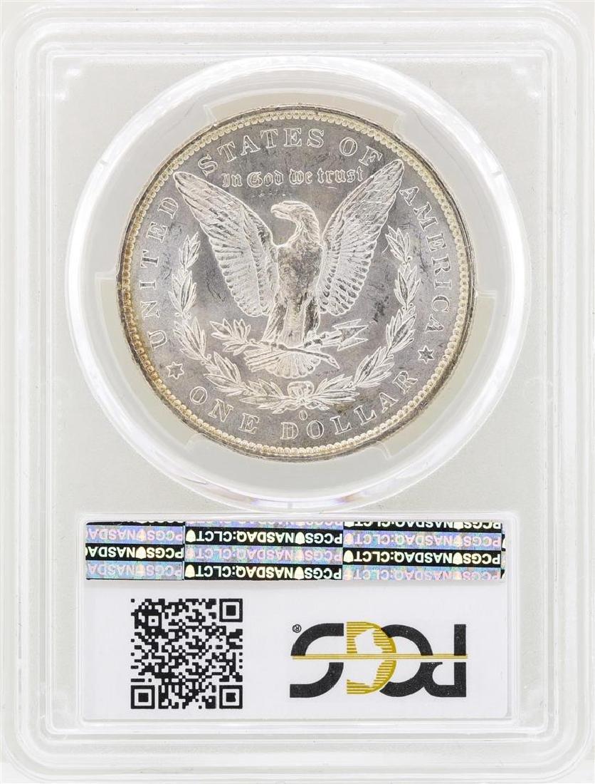 1884-O $1 Morgan Silver Dollar Coin PCGS MS63 - 2