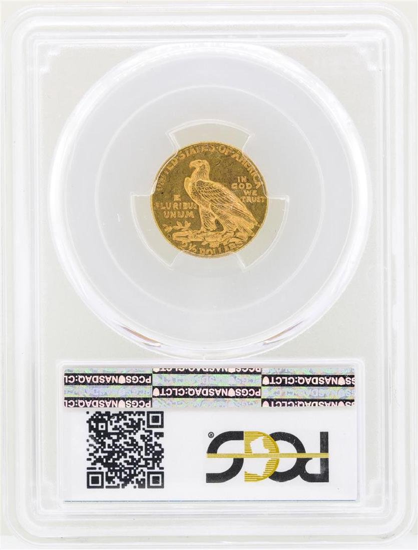 1925-D $2 1/2 Indian Head Quarter Eagle Gold Coin NGC - 2