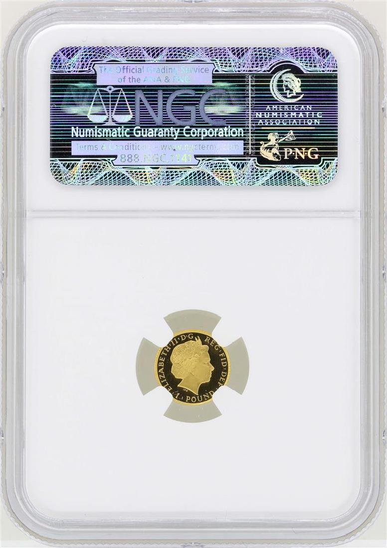 2013 Great Britain 1 Britannia Pound Gold Coin NGC PF70 - 2