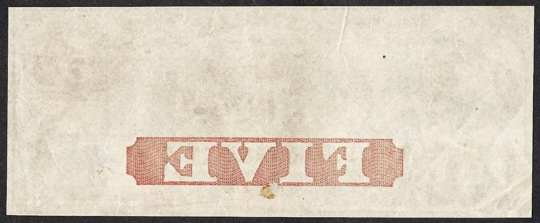 1800's $5 The Union County Bank Obsolete Note - 2