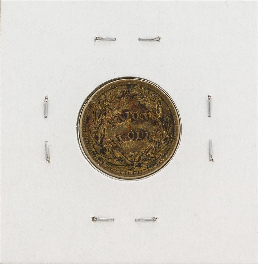 1863 Civil War Token D.L. Wing Albany New York - 2