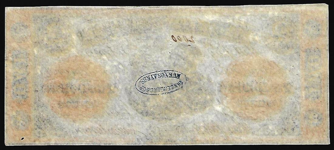 1861 $2 The Bank of Clifton Obsolete Note - 2