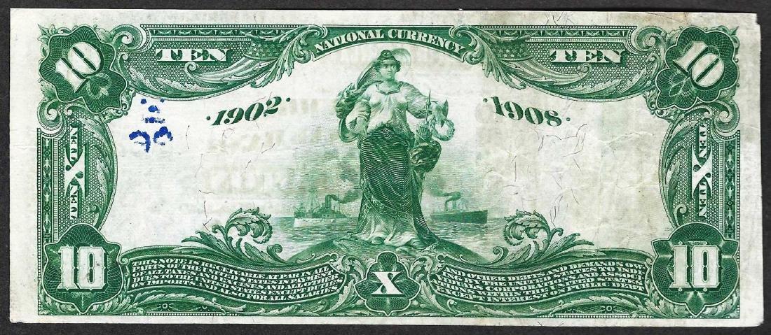 1902 $10 The Columbia National Bank of Washington Note - 2