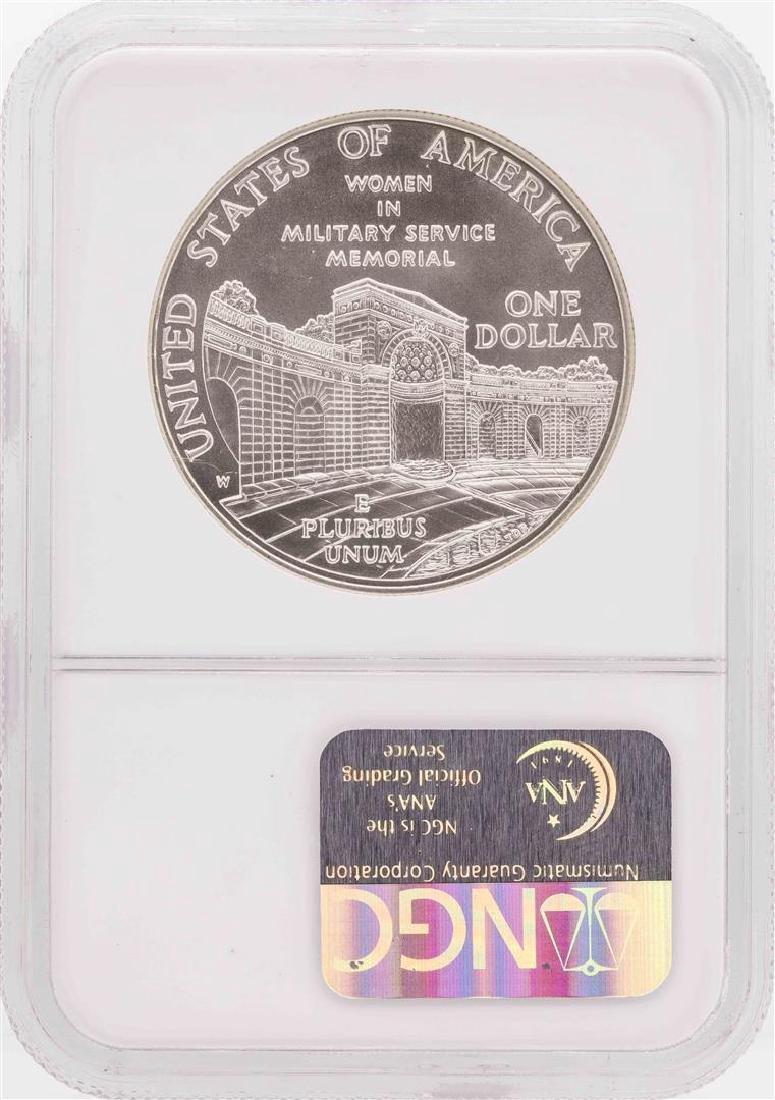 1994-W $1 Women Veterans Commemorative Silver Dollar - 2