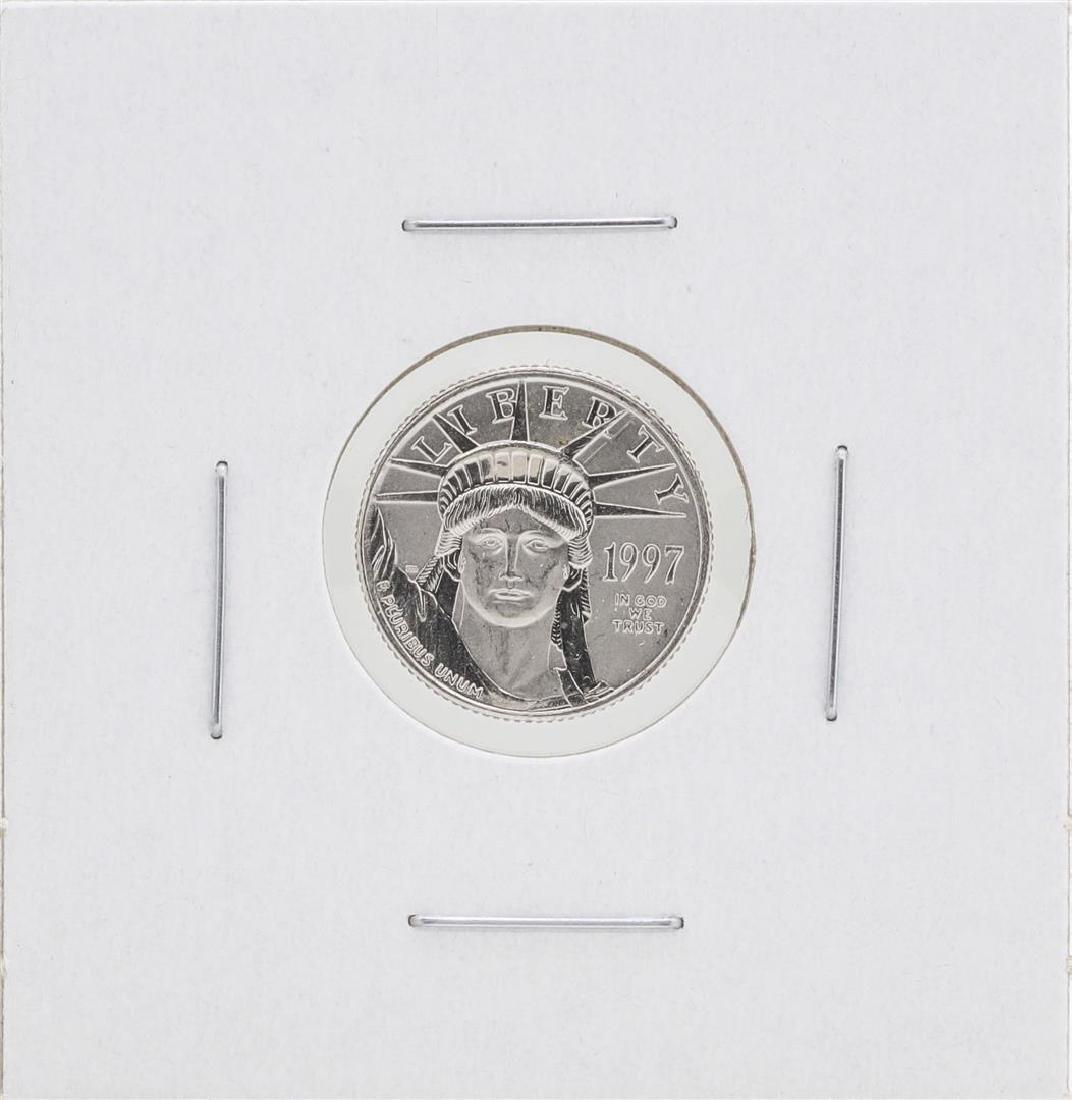 1997 $10 Platinum American Eagle Coin BU