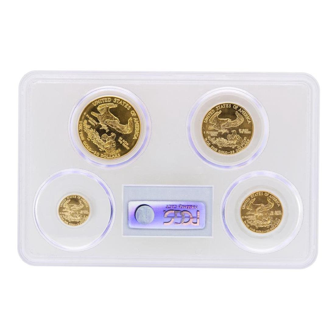 1986 American Gold Eagle (4) Coin Set PCGS MS69 - 2