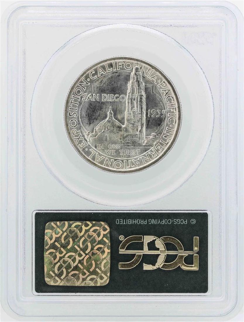 1935-S San Diego Commemorative Half Dollar Coin PCGS - 2
