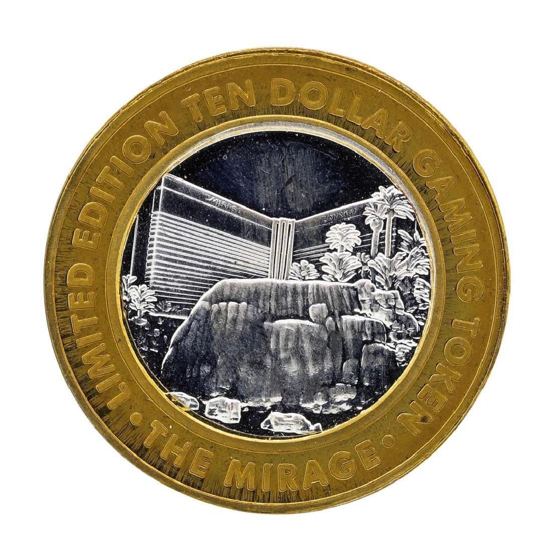 .999 Silver The Mirage Las Vegas, Nevada $10 Casino