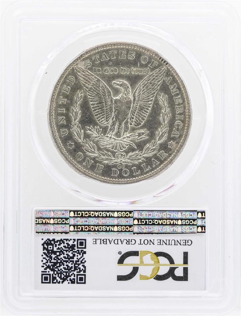 1889-CC $1 Morgan Silver Dollar Coin PCGS Genuine XF - 2