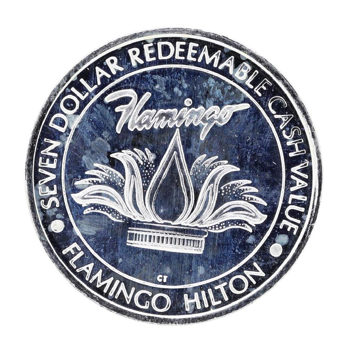 .999 Fine Silver Flamingo Hilton Laughlin, NV $7