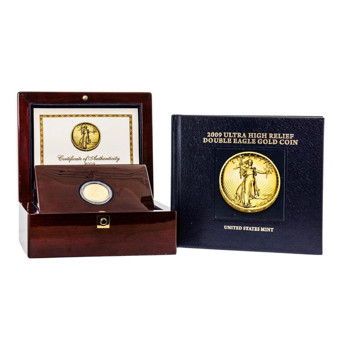 2009 $20 Ultra High Relief Double Eagle Gold Coin w/Box