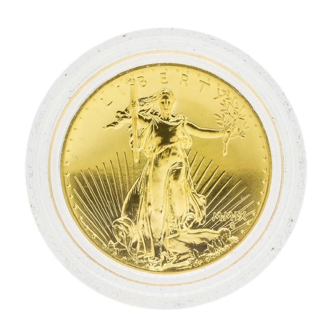 2009 $20 Ultra High Relief Double Eagle Gold Coin w/Box - 2