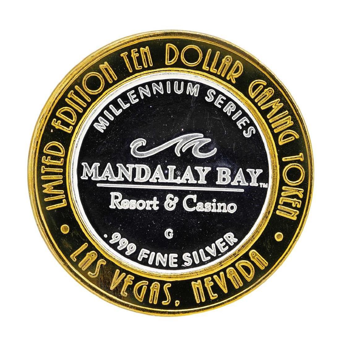 .999 Silver Mandalay Bay Resort & Casino Las Vegas, NV - 2