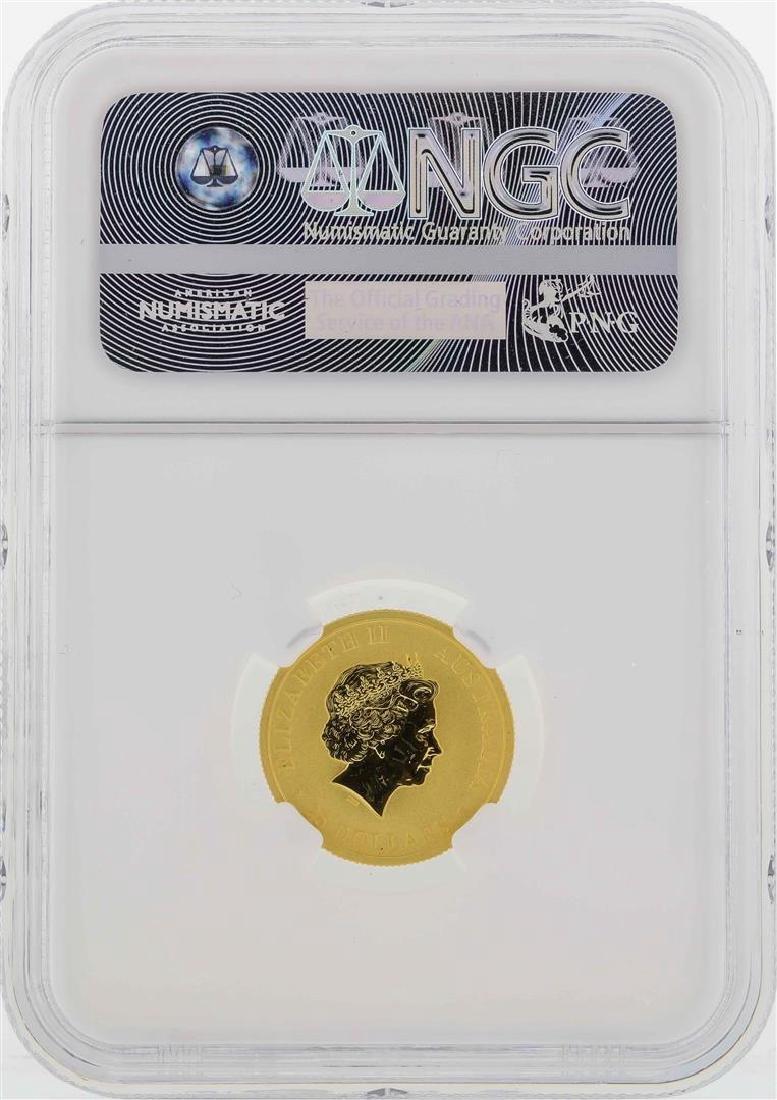 2016P Australia $25 Kangaroo Gold Coin NGC MS70 - 2