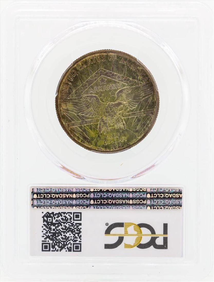 1935 Arkansas Commemorative Half Dollar Coin PCGS MS66 - 2