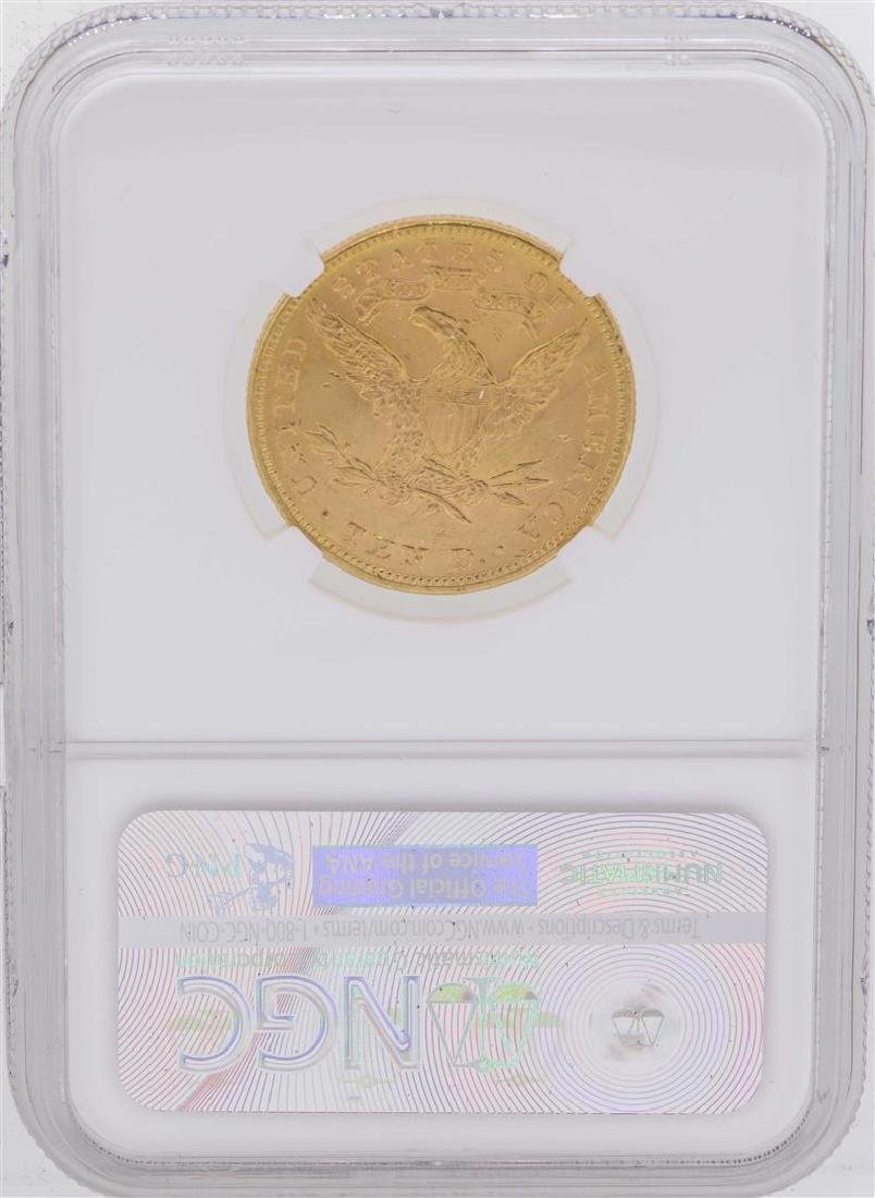 1893 $10 Liberty Head Eagle Gold Coin NGC MS63 - 2