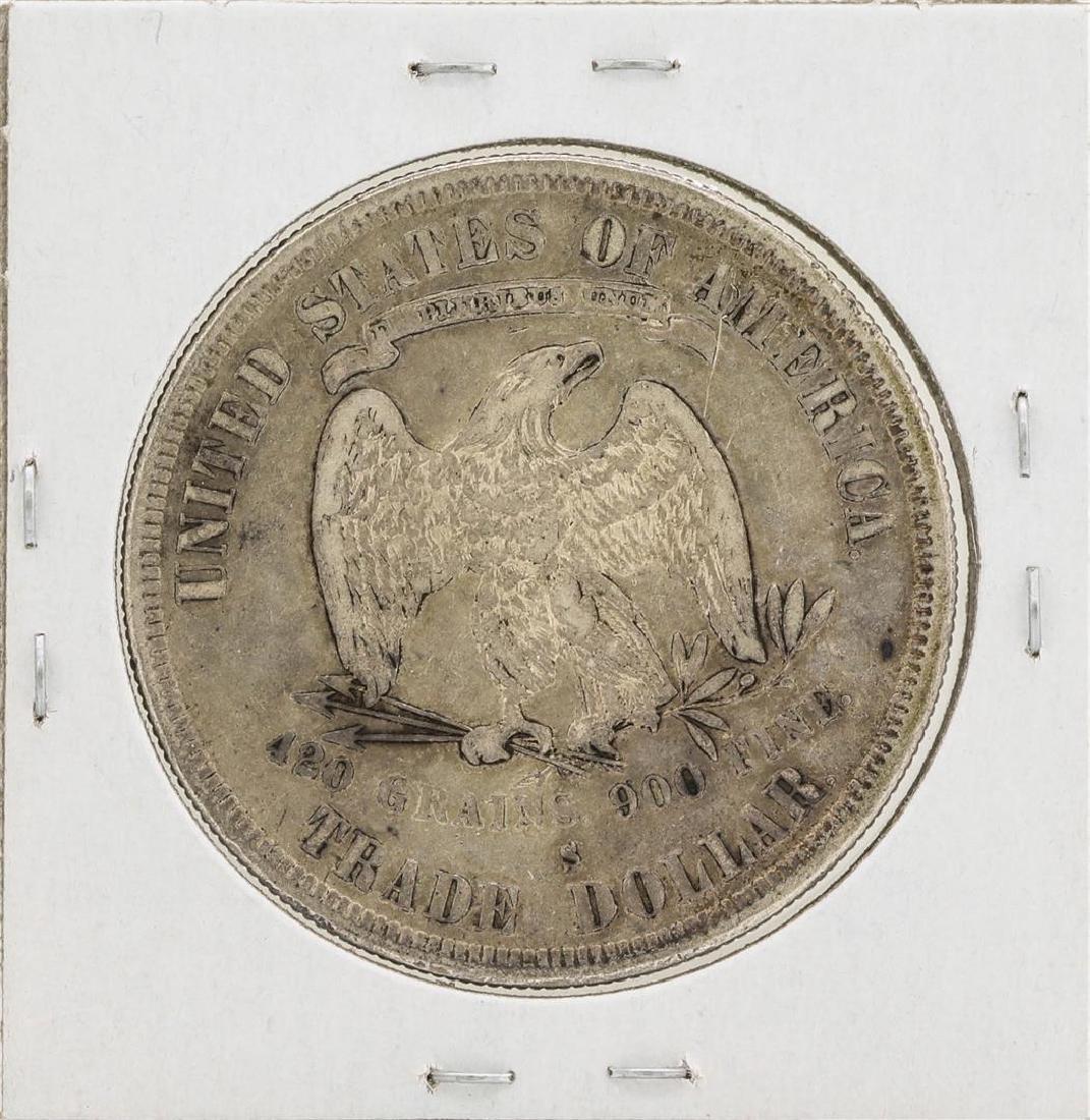 1878-S $1 Trade Silver Dollar Coin - 2