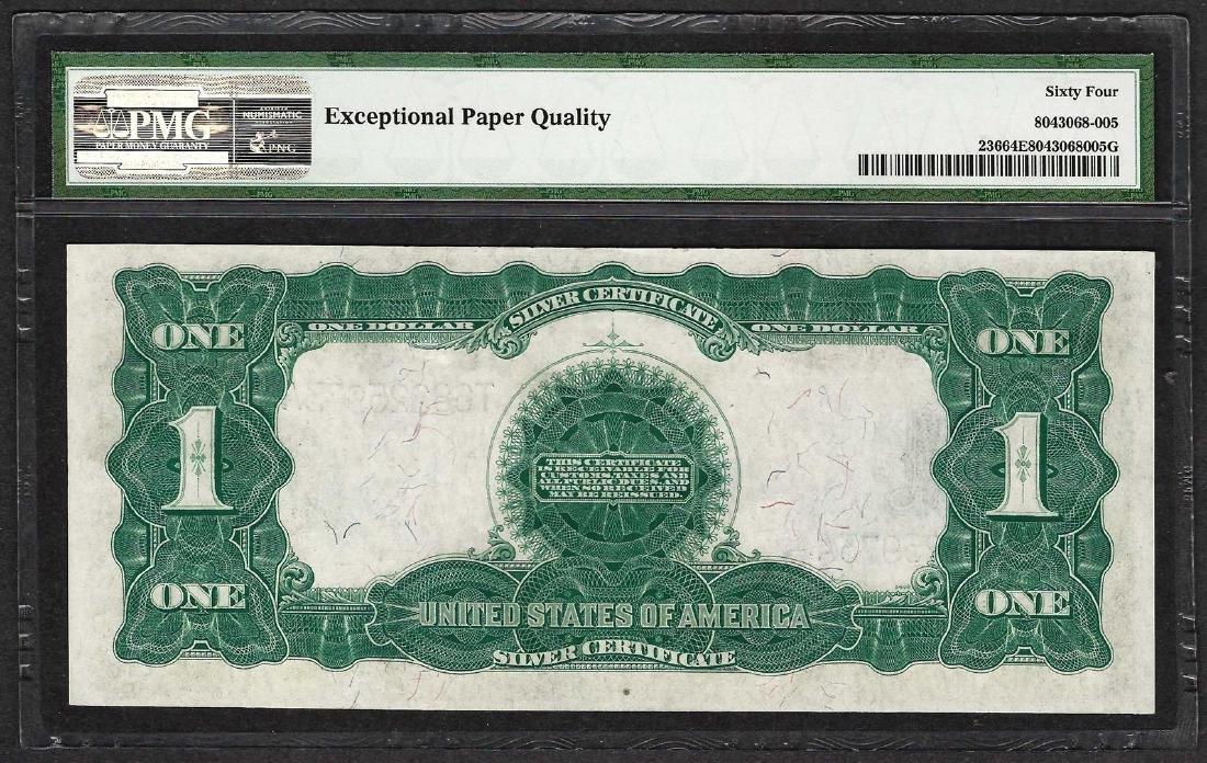 1899 $1 Black Eagle Silver Certificate Note Fr.236 PMG - 2